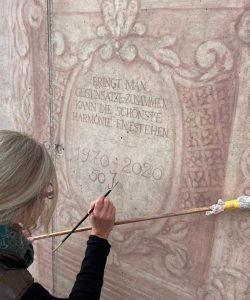 Inschrift Kartusche